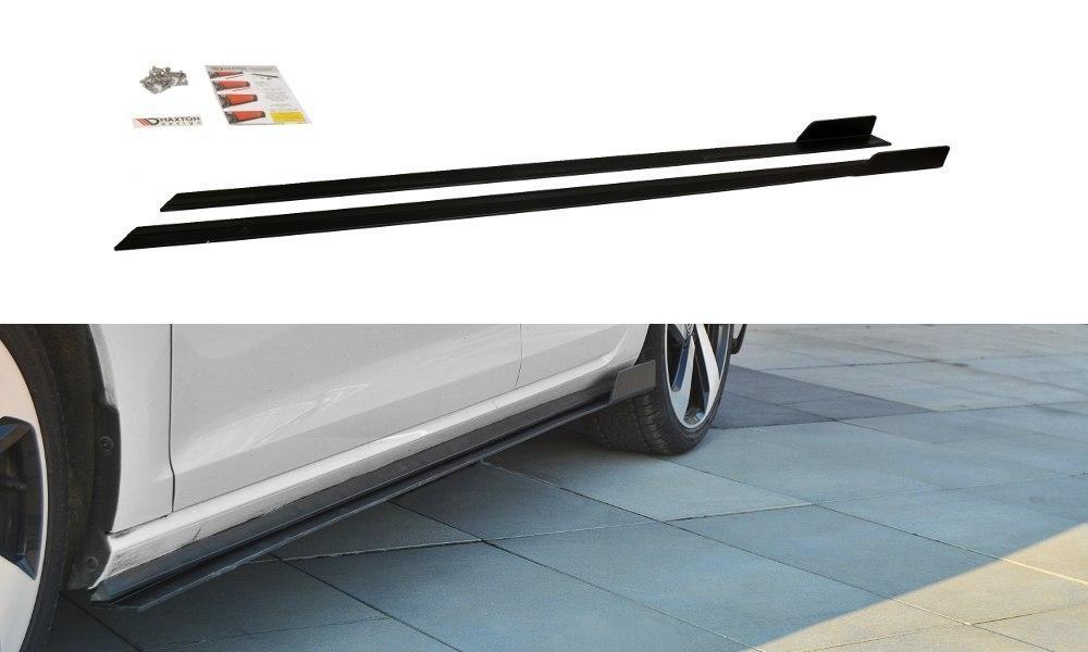 Dokładki Progów Racing VW Golf 7 GTI Polift - GRUBYGARAGE - Sklep Tuningowy